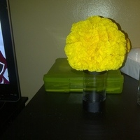 yellow, Centerpiece