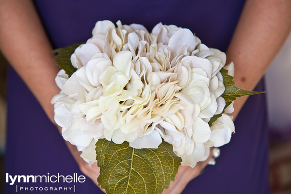 Ceremony, Flowers & Decor, Bridesmaids, Bridesmaids Dresses, Fashion, white, purple, black, silver, Ceremony Flowers, Bride Bouquets, Bridesmaid Bouquets, Flowers, Bouquet, Bridesmaid, Hydrangea, Flower Wedding Dresses