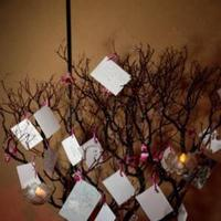 Reception, Flowers & Decor, Wedding wish tree