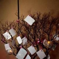 Reception, Flowers & Decor, Wedding wish tree