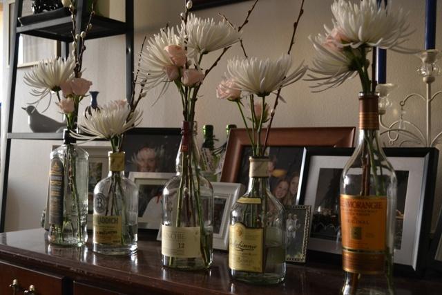 Ceremony, Reception, Flowers & Decor, Decor, Ceremony Flowers, Flowers, Vase, Inspiration board, Bottles