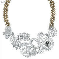 Jewelry, white, silver, gold, Necklaces, And, Necklace, Chloe, Isabel, Collar