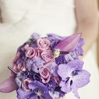 purple, Bouquet, Bridal, Violet, Sandra juan