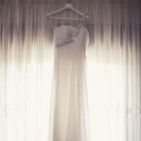 Wedding Dresses, Fashion, white, dress, Gown, Chiffon, Sandra juan, Chiffon Wedding Dresses