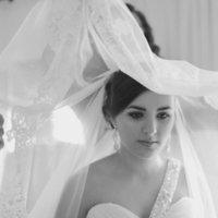 Veils, Fashion, white, Bride, Veil, Sandra juan, Lace-trim