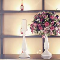 Reception, Flowers & Decor, white, purple, Centerpieces, Flowers, Centerpiece, Magenta, Sandra juan