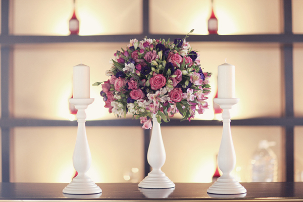 Reception, Flowers & Decor, white, purple, Centerpieces, Flowers, Centerpiece, Magenta, Sandra juan