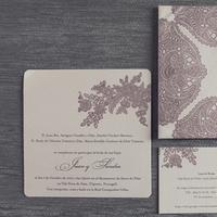 Stationery, Paper, purple, Invitations, Design, Goods, Sandra juan