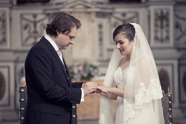 Ceremony, Flowers & Decor, Bride, Groom, Vows, Sandra juan, Monastery