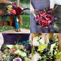 Flowers & Decor, Flowers, Inspiration board, Peacock