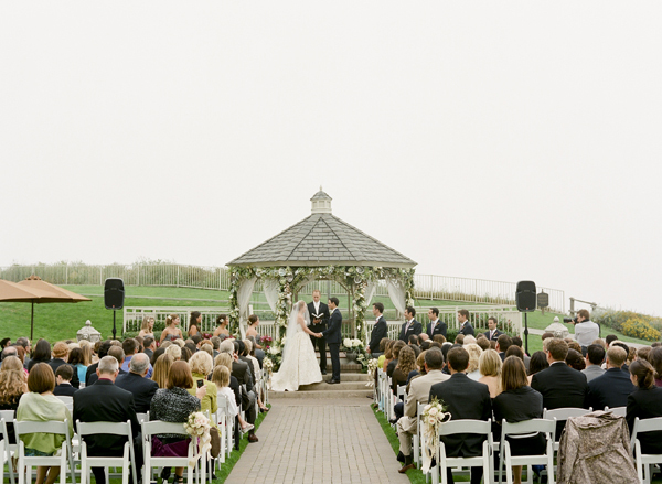 Ceremony, Flowers & Decor, Bride, Groom, Vows, Gazebo, Merryl marko, Audience