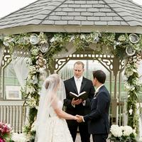 Ceremony, Flowers & Decor, Bride, Groom, Vows, Gazebo, Merryl marko