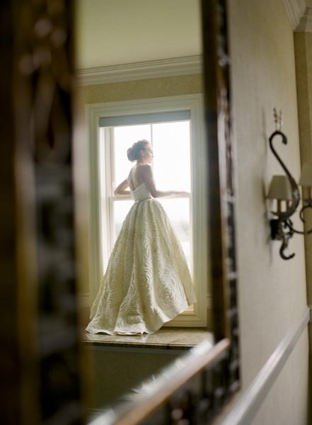 Bride, Portrait, Mirror, Merryl marko