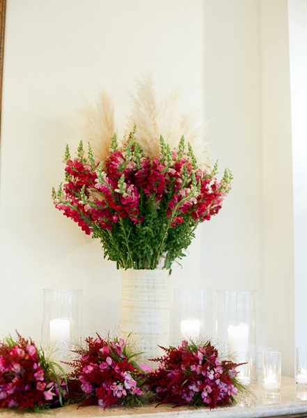 Reception, Flowers & Decor, Fuchsia, Merryl marko