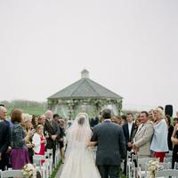 Ceremony, Flowers & Decor, Bride, Father, Gazebo, Merryl marko