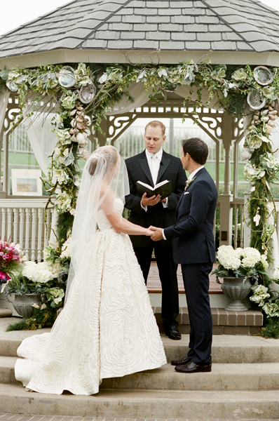 Ceremony, Flowers & Decor, Bride, Groom, Vows, Gazebo, Merryl marko