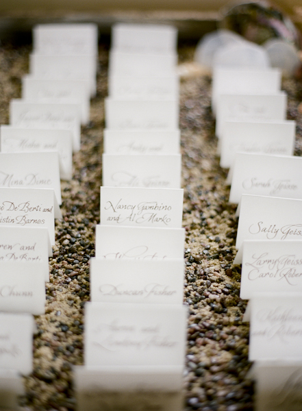 Stationery, Escort Cards, Sand, Escort card, Pebbles, Merryl marko