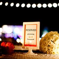 Reception, Flowers & Decor, white, blue, Modern, Table, Runner, Navy, Scallop