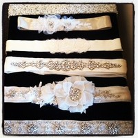 Wedding Dresses, Fashion, white, silver, gold, dress, Accessories, Sash