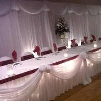 Reception, Flowers & Decor, Decor, white, red, Elegant, Backdrop