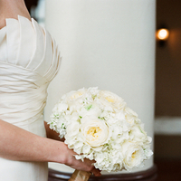Flowers & Decor, ivory, Bride Bouquets, Flowers, Bouquet, Strapless, Walk, Candlelight, Sophisticated, Amanda john