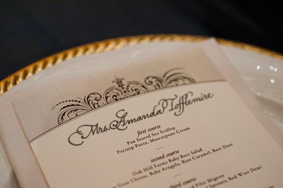 Calligraphy, Menu, Austin, Elegant, Dish, Candlelight, Ware, Sophisticated, Amanda john