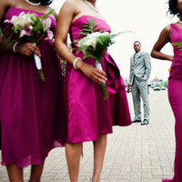 Bridesmaids, Bridesmaids Dresses, Fashion, pink, purple