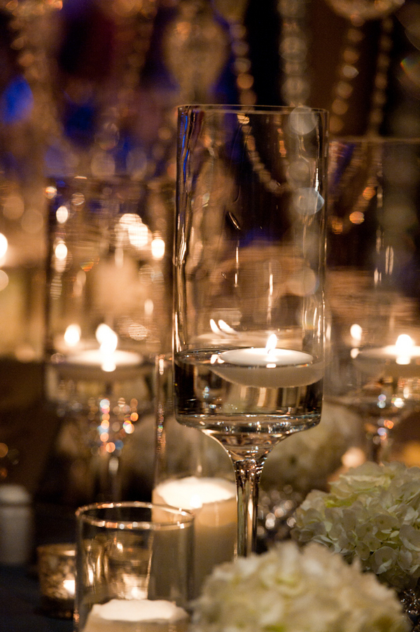 Flowers, Table, Candles, Florals, Votives, Sophisticated, Glow, Candlelight, Glasses, Amanda john, Flowers & Decor, Registry, Drinkware