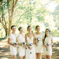 Bridesmaids, Bridesmaids Dresses, Fashion, white, Outdoor, Dresses, Fresh, Bec adam