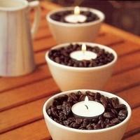 Reception, Flowers & Decor, Centerpieces, Coffee, Beans
