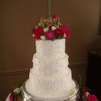 Cakes, white, cake, Wedding, Brides