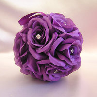 Ceremony, Flowers & Decor, purple