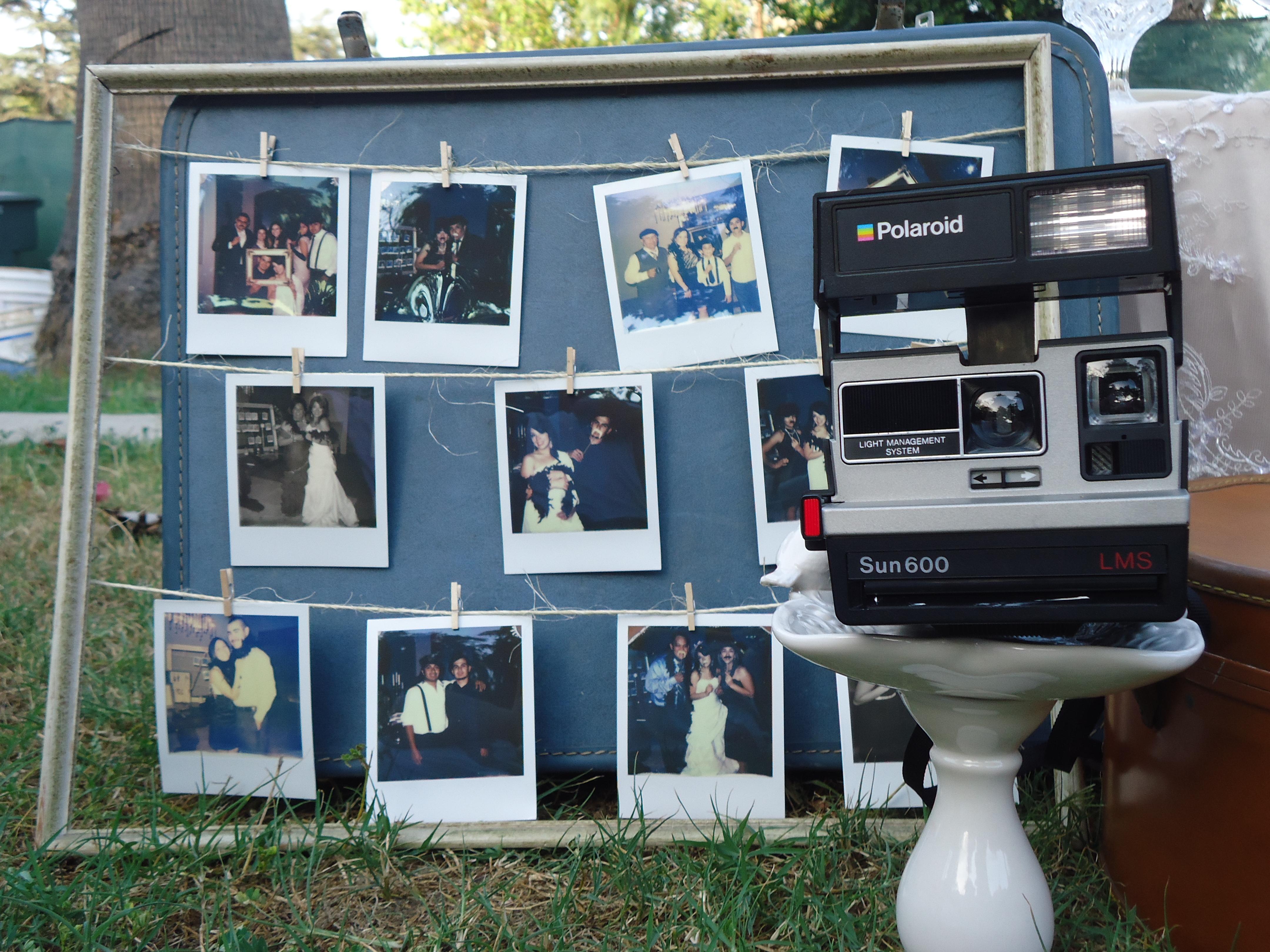 Photo, Bar, Polaroid