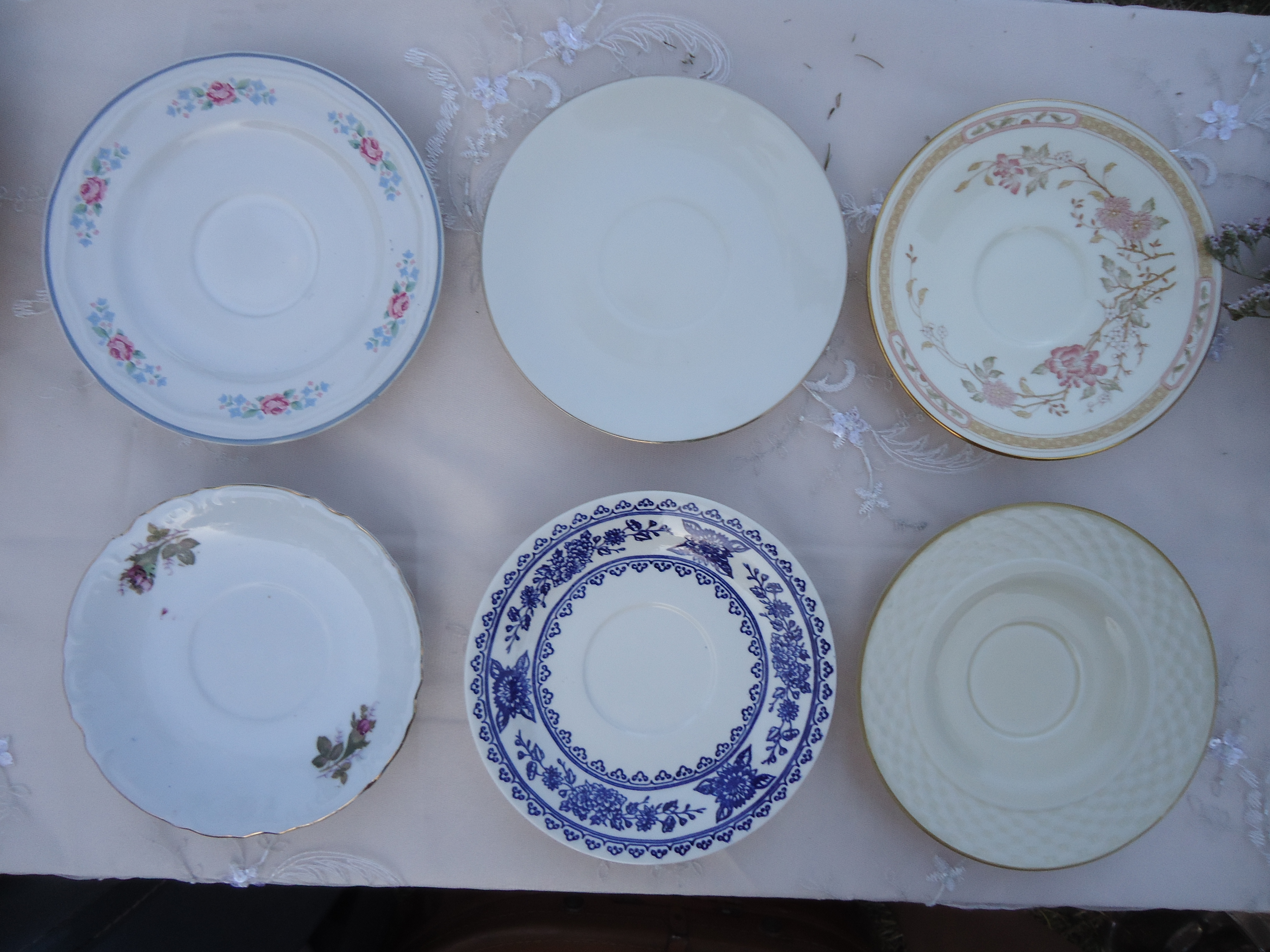 Registry, Place Settings, Dessert, Plates