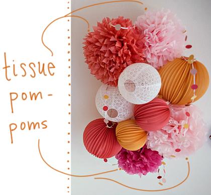 Tissue, Pom