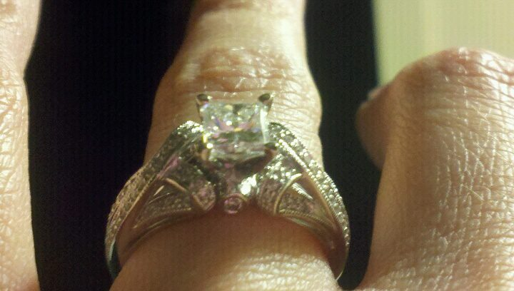 Jewelry, Engagement Rings, Princess Cut Engagement Ring, Ring, Princess, Engagement, Diamond, Scott, Kay, Artiste