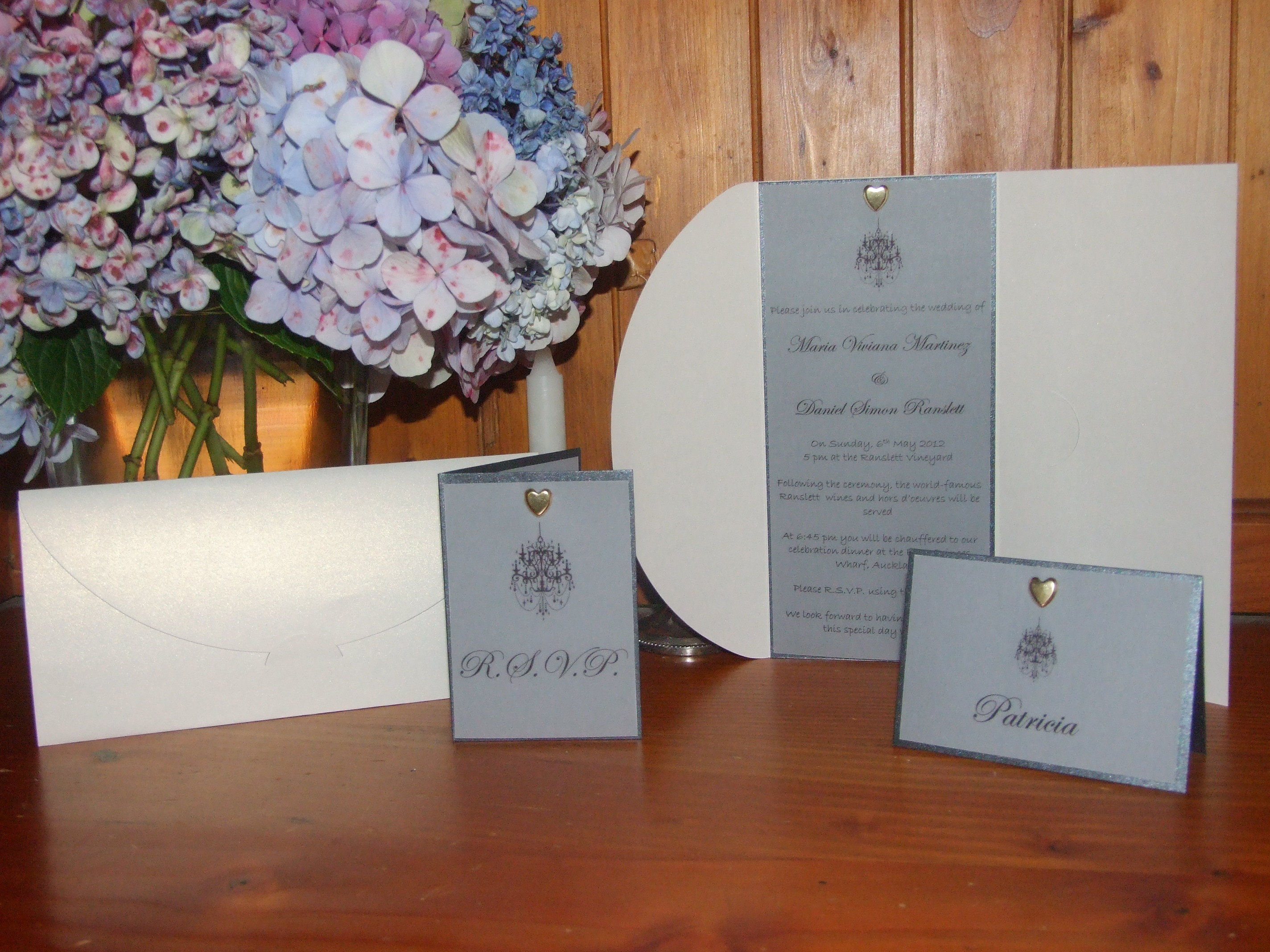 Reception, Flowers & Decor, Stationery, white, purple, brown, black, silver, gold, Invitations, Wedding, Stationary
