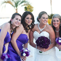 Bridesmaids, Bridesmaids Dresses, Fashion, purple, silver