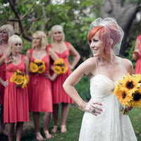 Bridesmaids, Bridesmaids Dresses, Wedding Dresses, Fashion, pink, dress, Color