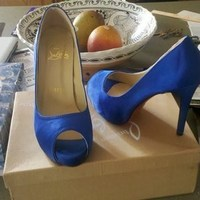 Shoes, Fashion, blue