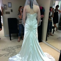 Ceremony, Reception, Flowers & Decor, Wedding Dresses, Fashion, white, dress, Of, Back