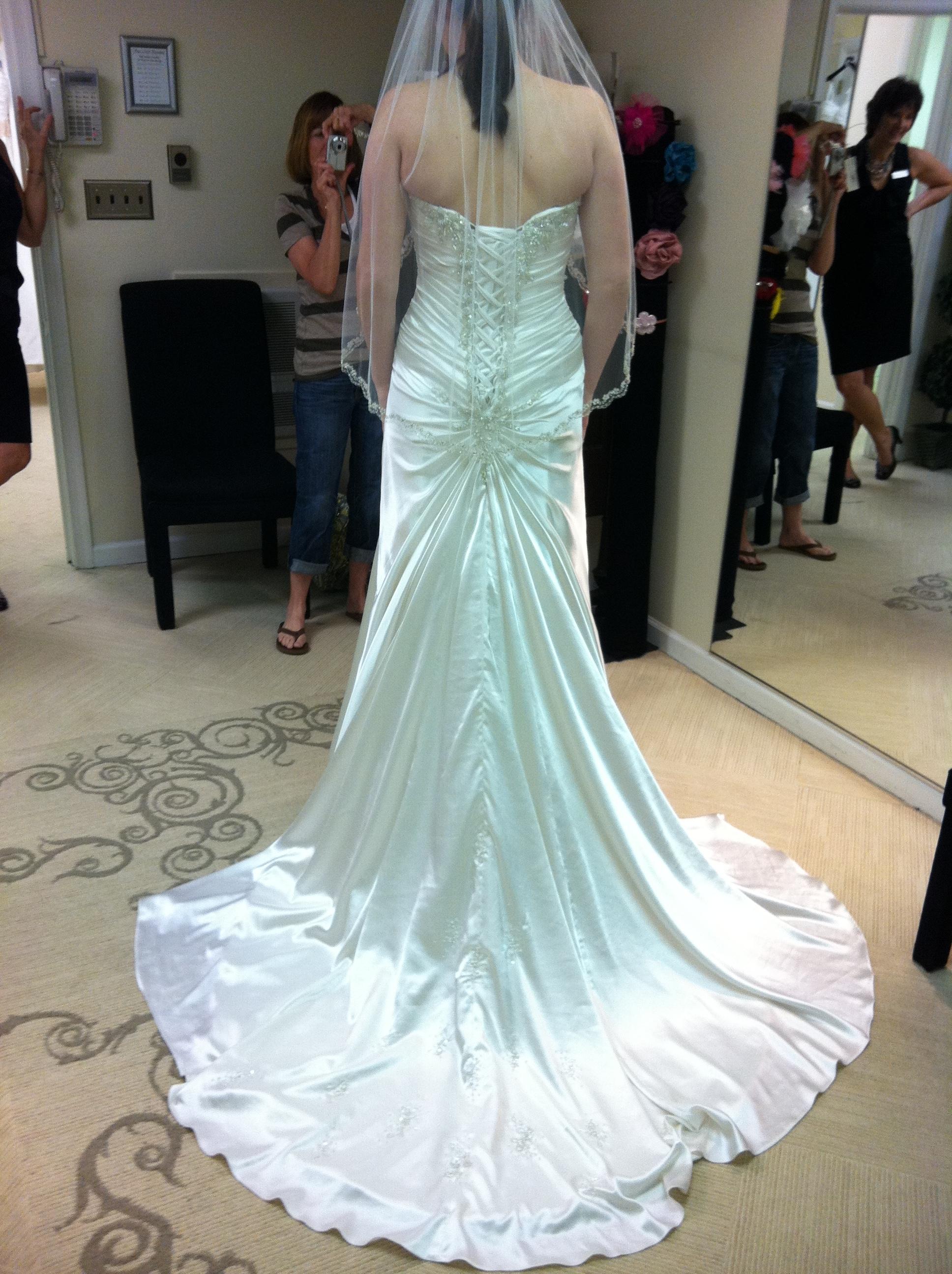 Ceremony, Reception, Flowers & Decor, Wedding Dresses, Fashion, white, dress, Of, Back