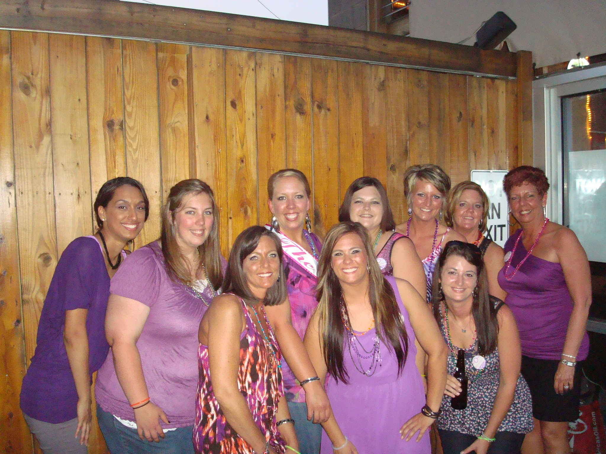 purple, Party, Bachlorette
