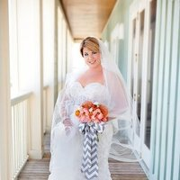 Wedding Dresses, Beach Wedding Dresses, Fashion, gray, dress, Beach, Peonies, Coral, Chevron