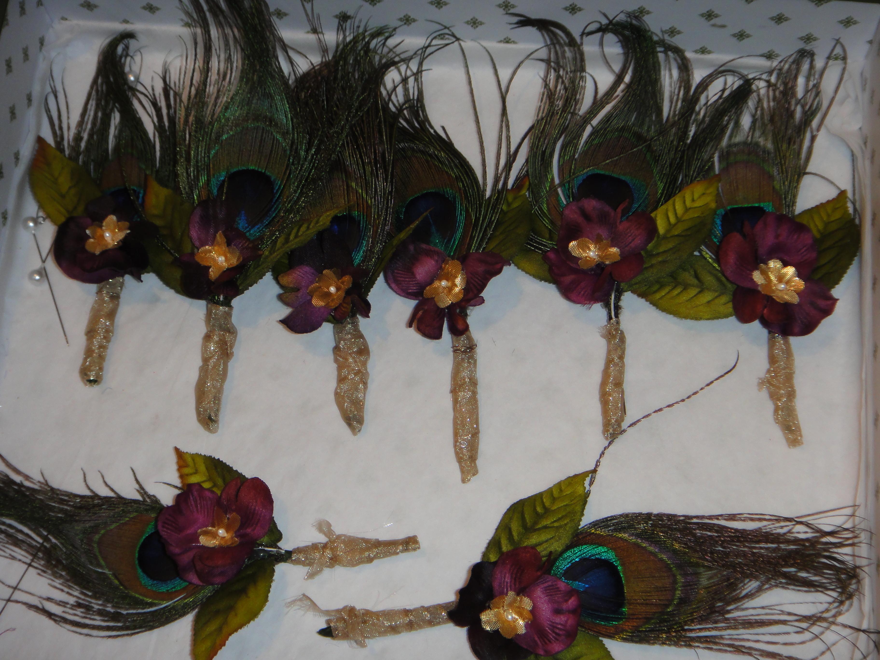 Ceremony, Reception, Flowers & Decor, Favors & Gifts, Bridesmaids, Bridesmaids Dresses, Fashion, purple, blue, green, gold, Favors, Ceremony Flowers, Bridesmaid Bouquets, Flowers, Flower Wedding Dresses