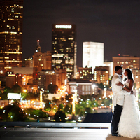 City, Bride and groom, View, Skyline, Atlanta, Asha bryson