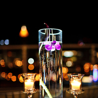 Flowers & Decor, Lighting, Candles, Flower, Water, Glass, Submerge, Asha bryson