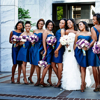 Bridesmaids, Bridesmaids Dresses, Fashion, purple, blue, Teal, Dresses, Different, Ten, Asha bryson