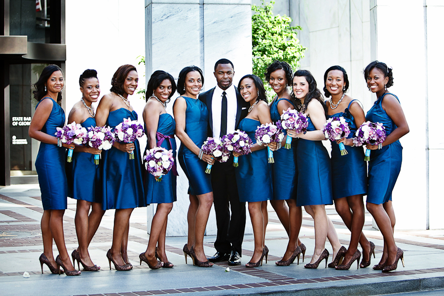 purple, blue, Bridesmaids, Groom, Teal, Formals, Ten, Asha bryson, Fashion, Bridesmaids Dresses