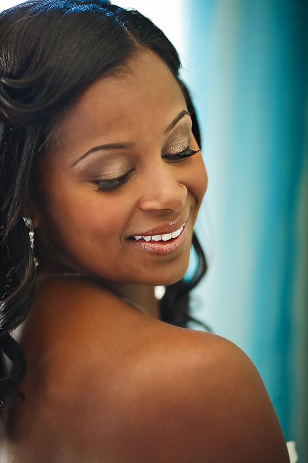 Bride, Make-up, Smile, Asha bryson